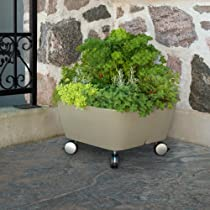 Square Mobile Garden365 Planter