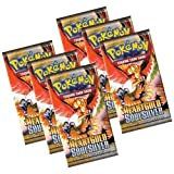 Pokemon Heart Gold and Soul Silver Trading Card Booster Packets (6-Pack)
