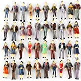 Generic 1:50 Scale O Gauge Hand Painted Layout Model Train People Figure