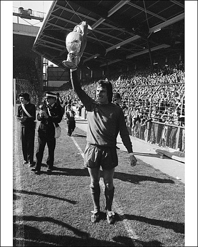 Photographic Print of Ray Clemence – League Champions celebrations from Liverpool FC Pictures