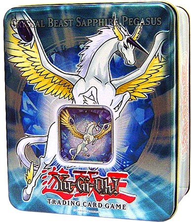 Sale Cheap YuGiOh GX Card Game 2007 Series 1 Collector Tin Set Crystal