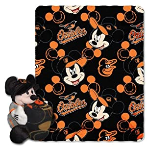 MLB Baltimore Orioles Disney Mickey Mouse Hugger by Northwest
