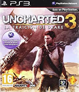 Uncharted 3. La traición de Drake (PS3)/SPA