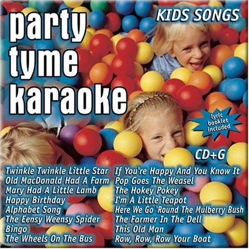 Party-Tyme-Karaoke-Kids-Songs-16-song-CDG