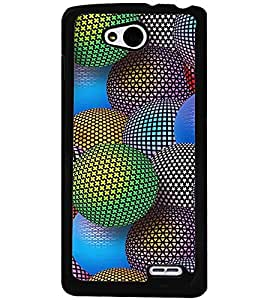PRINTVISA Abstract Colourful Ball Case Cover for LG L90
