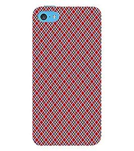 EPICCASE big color diamonds Mobile Back Case Cover For Apple iPhone 5c (Designer Case)