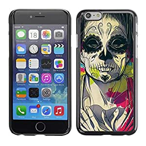Omega Covers - Snap on Hard Back Case Cover Shell FOR Iphone 6/6S (4.7 INCH) - Juggalo Death Deep Meaning Pink Drawing