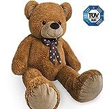 Nounours peluche ours géant XXL Teddy Bear 100cm brun