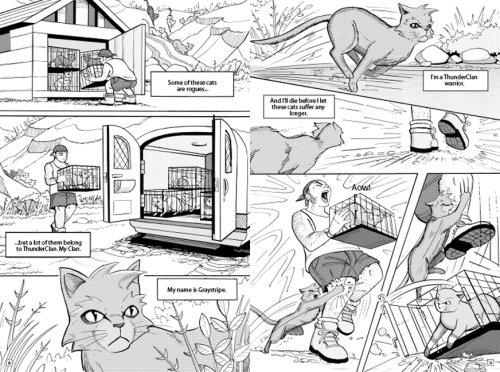 Warrior Cats Manga Pdf Skyclan And The Stranger