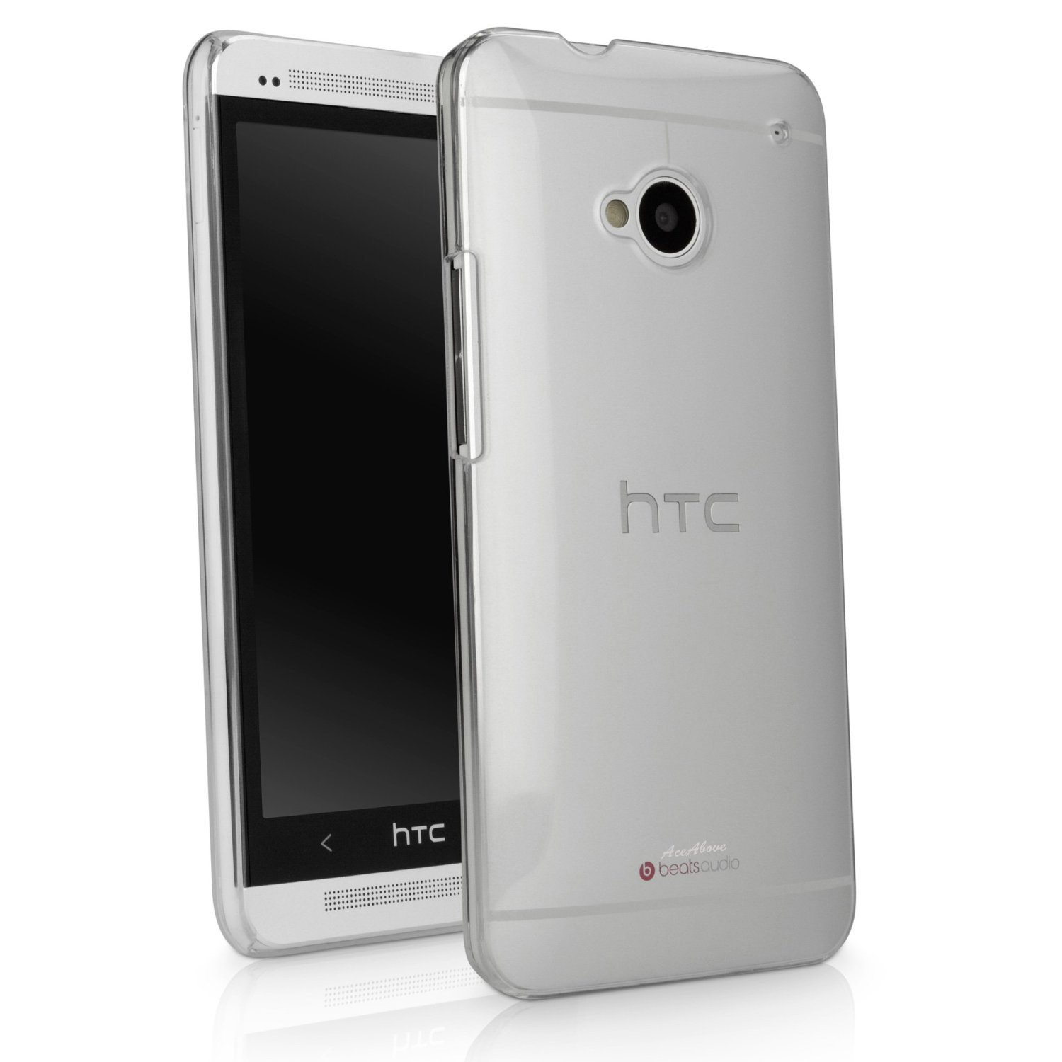 AceAbove HTC One M7 Case Slim-Fit Ultra Lightweight Polycarbonate Hard Shell Cover for New HTC One $4.95
