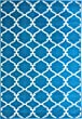 Sweet Home Stores Clifton Collection Blue Moroccan Trellis Design (7\'10\