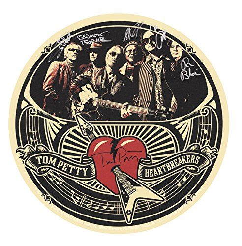 C&D Visionary Tom Petty Autographs Sticker