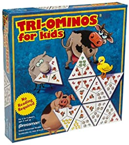 Pressman Triominos for Kids