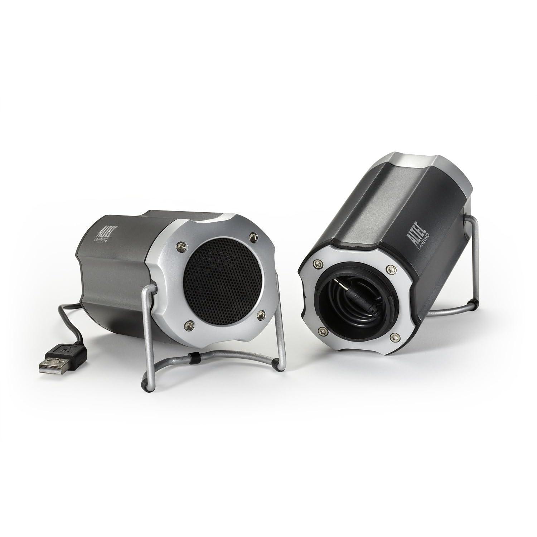 Loa máy tính Altec Lansing IML247 Portable Orbit Stereo USB Speaker System. E24h