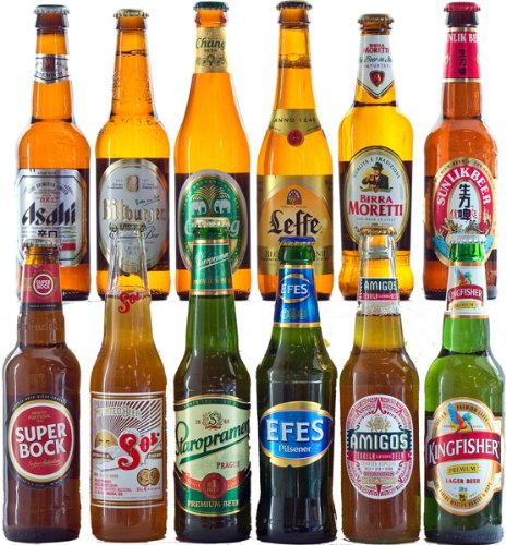 InterHamper - 6 Best of World Beers Hamper with Free Delivery