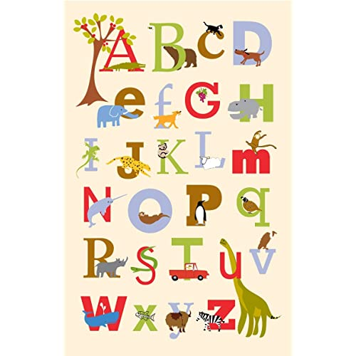 Alphabet poster 13 x19 inches