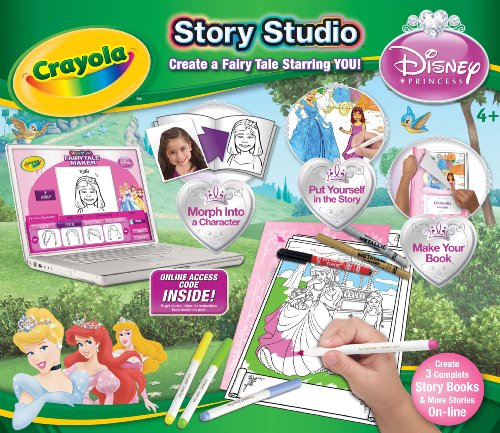 Imagen 2 de Disney Princess Crayola Historia Studio Craft Kit