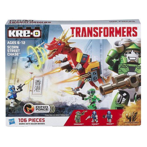Kre-o Transformers Dino Force Scorn Street Chase - 1