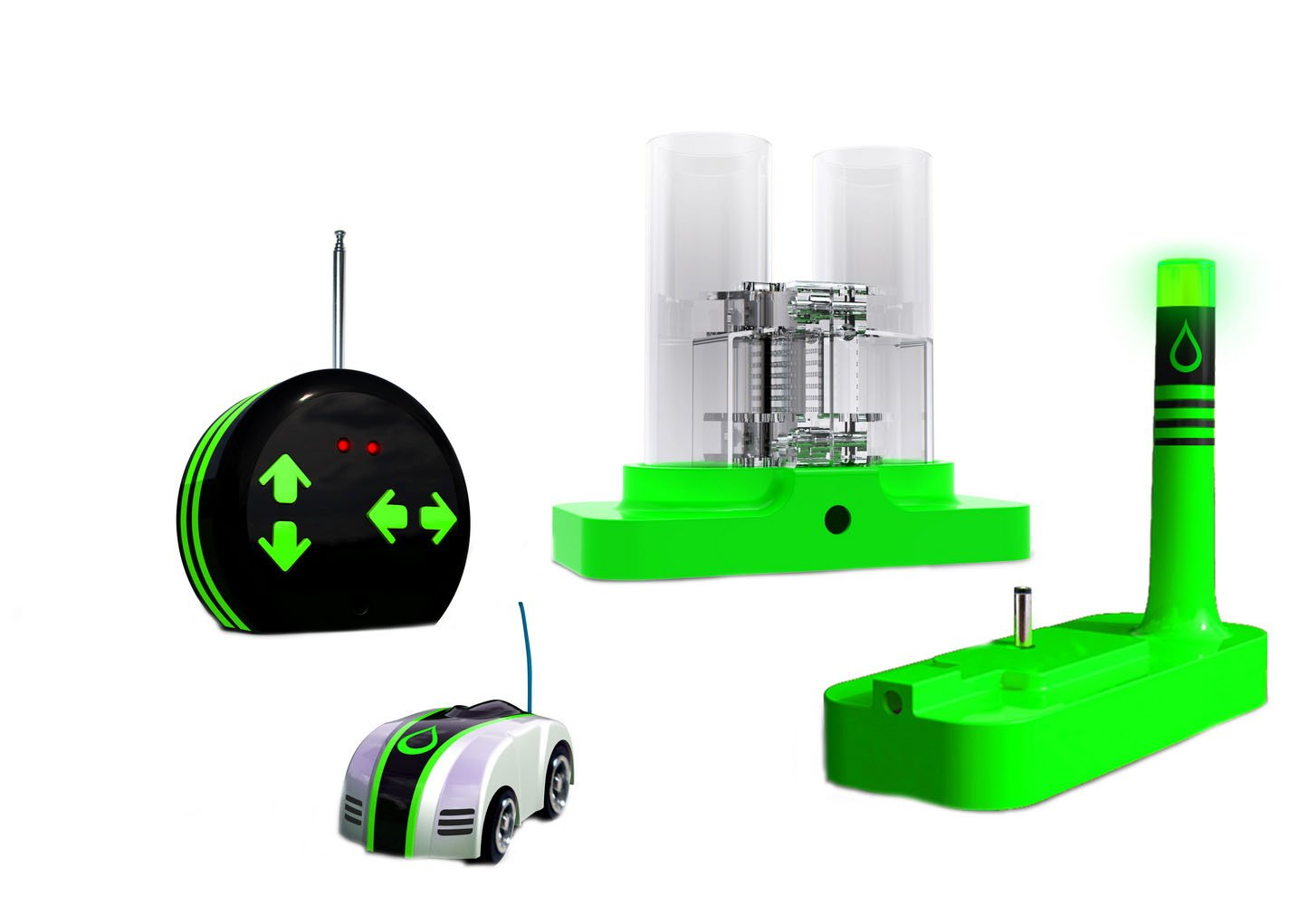 Eco-Racers Water Powered Remote Control Micro Cars