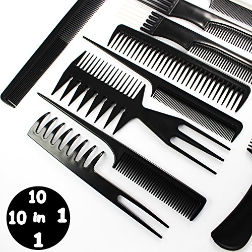 hairdressing-stylists-barbers-combs-10-piece-set-with-free-shipping-by-blue-avocado