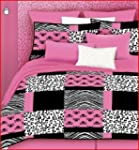 Veratex 457173 Pink Skulls Bed-In-A-B...