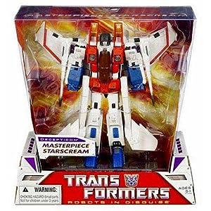 Amazon.com: Transformers Masterpiece Starscream G1 (White): Toys