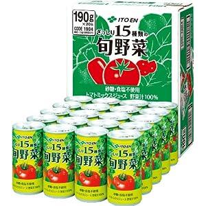 伊藤園 旬野菜 190g×20本