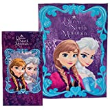 Disney Frozen Elsa & Anna Blanket & Beach Towel Set