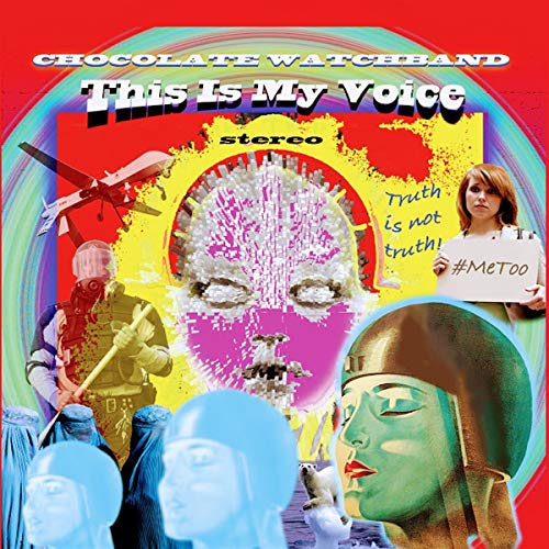 Vinilo : Chocolate Watch Band - This Is My Voice (Digital Download Card)