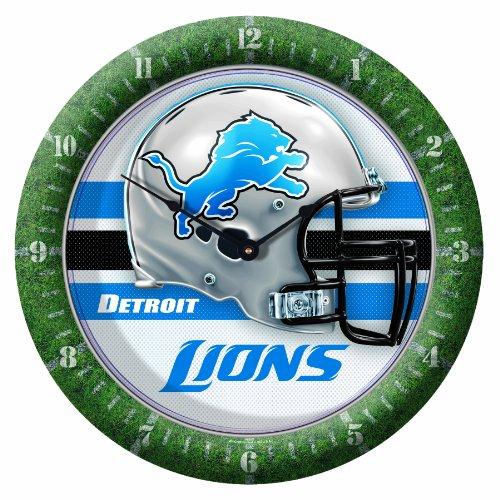 NFL Detroit Lions Game Time Clock