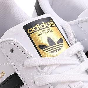 アディダス adidas スーパースター ホワイト×ブラック 22.5cm C77124
