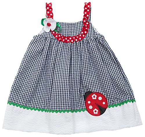 Rare Editions Baby Girls Ladybug Dress