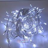 イルミネーションライト LED 200球 白