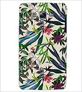PrintDhaba LEAF PATTERN D-6849 Back Case Cover for SAMSUNG GALAXY ON7 (Multi-Coloured)