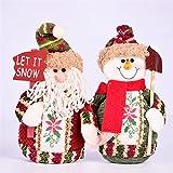 Generic China, Santa Claus : 2017 Hot Sale Santa Claus Snow Man Reindeer Doll Table Window Christmas Decoration...