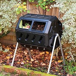 Yimby Tumbler Composter, Black