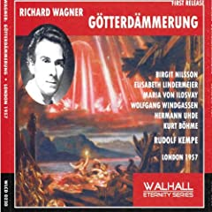 Richard Wagner : G�tterd�mmerung (London 1957)