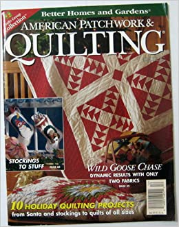 Better Homes And Gardens American Patchwork Quilting Magazine October 1997 Issue 28 December