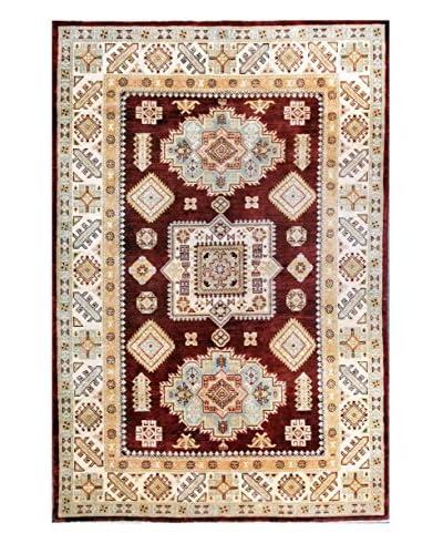 Bashian Rugs Hand Knotted Pak Kazak, Onion, 5' 5 x 8'