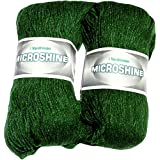 Vardhman Acrylic And Nylon Knitting Wool, Pack Of 2 (Leaf Green)