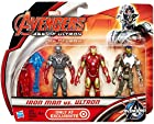 Marvel Avengers Age of Ultron Iron Man vs Ultron Exclusive 3 3/4 Action Figure 3-Pack
