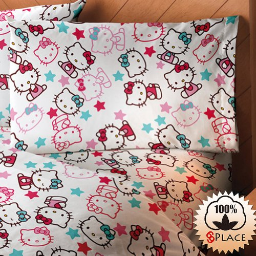 Queen Size Hello Kitty Bedding