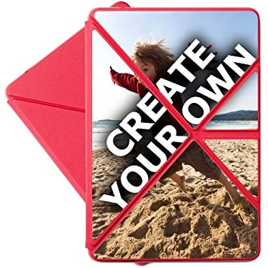 "Kindle Fire HD Pink Origami Case (All Kindle Fire HD 7"") - 'Create Your Own'"