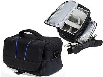 【クリックでお店のこの商品のページへ】Amazon.co.jp|Navitech 黒 カメラバッグ 大 (CANON EOS Kiss X6i EF-S18-135 IS STM レンズキット)対応 ※付属レンズ収納可|カメラ通販
