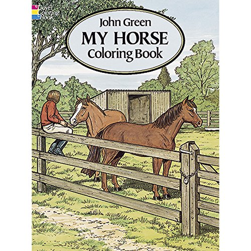 Dover Publications Book, My Horse Coloring - 1