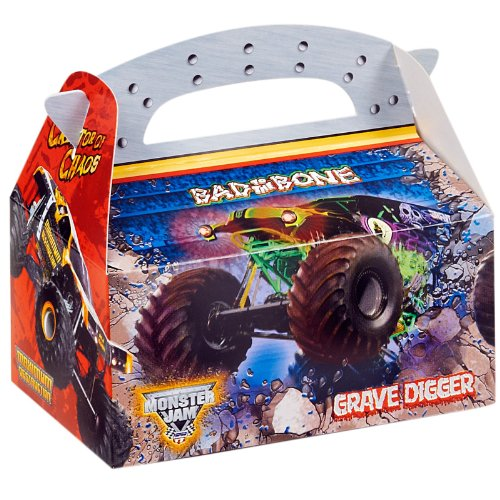 Monster Jam 3D Empty Favor Boxes (4)