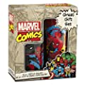 Vandor 26088 Marvel Spider-man 16 oz Plastic Travel Mug and 12 oz Ceramic Mug Set, Multicolor