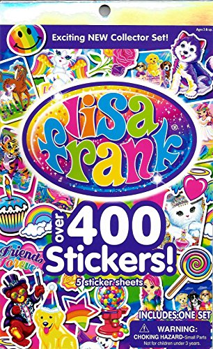 Lisa Frank Over 400 Stickers! - 1
