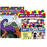 Do A Dot Art Marker Rainbow 6-pack Activity Book Gift Set - Dinosaurs