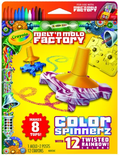 Crayola Melt 'N Mold Color Spinnerz Expansion Pack front-1001985